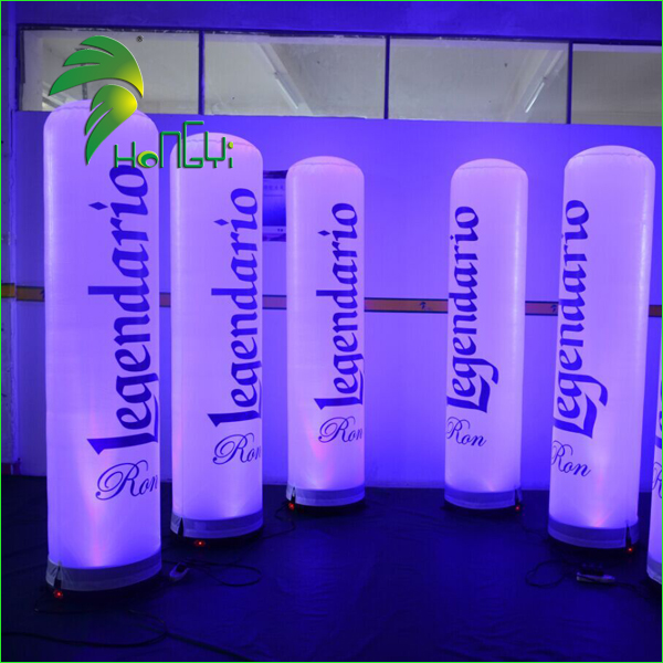 LED light inflatable lamp post  (8)