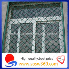 Galvanized Beautiful Grid Wire Mesh Fence