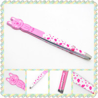 Brand new cosmetic tool eyebrow tweezers for wholesales