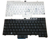 For DELL E6400 laptop keyboard black without backlit with tracker ebour007