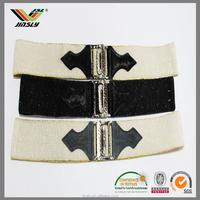 fashion ladies fancy bead woven cotton belt
