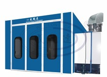 WLD-WS Industrial Water Curtain Furniture Paint Booth/Water Curtain Spray Booth