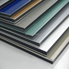 Outdoor decoration material 4mm pvdf aluminum composite panel cladding alucobond sheet price