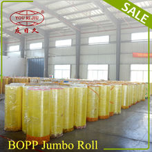 Good Sale Bopp Self Adhesive Transparent Film Jumbo Roll