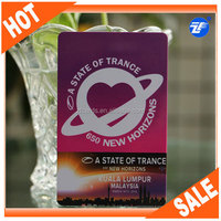 Loyalty card with individial barcode numbers