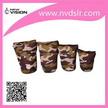 New Arravial Camouflage DSLR Camera Lens Bag Case