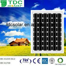 solar panel manufacturer 120w mono solar panel