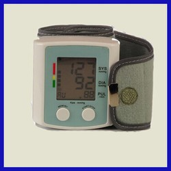 Home and Hospital use omron wrist blood pressure monitor