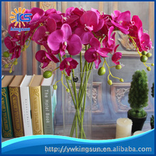 6 Colors Silk Flower Artificial Moth Orchid Butterfly Orchid for new House Home Wedding Festival Decors