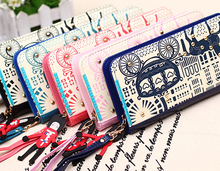 Ladies wallets,Best seller china factory direct sale low price wholesale fancy printing women bags womens oversized clutch bags