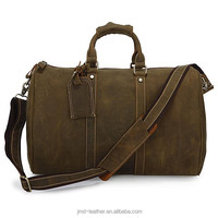 Hot Selling Genuine Leather Best New Design Classic Tote Travel Bags 7077R