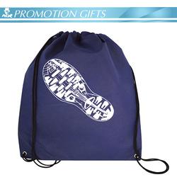 Promotional Wholesale Cheap Shopping Drawstring Bag