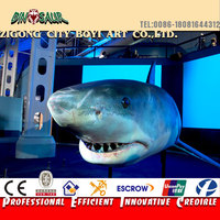 Park Large Animatronic Animal Shark Model