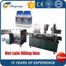 High speed Automatic bottle washing filling capping machine,filling line(trade assurance)