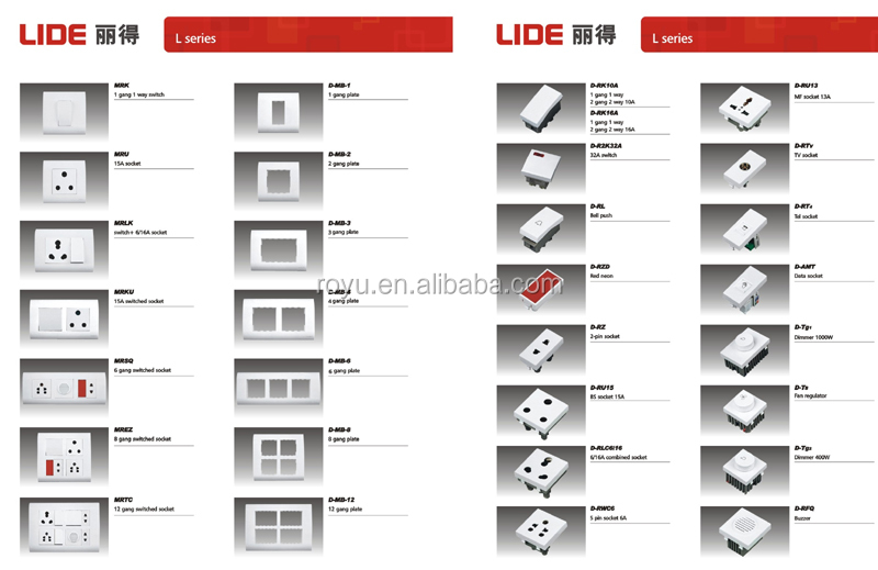 Switch And Socket Wall,Indian Series Wall Light Switch,Module Type ...