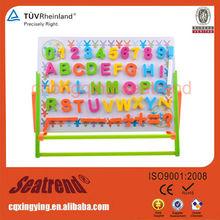 Personalizada linda 4C Impresión Pvc Imán alfabético Nevera colorido