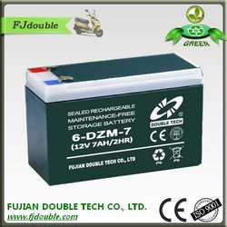 Long life dry rechargeable battery 12v 7ah sla rechargeable battery
