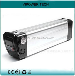 36V 8Ah LiFePO4 Ebike Battery Silver Fish Rechargeable Batteries Electric Bicycle Battery Pack