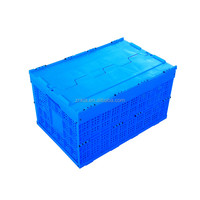 Factory wholesale folding plastic totes