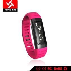Hot sell digital wristband U9 watch smart bluetooth bracelet with multi language