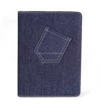 2015 of The best seller Denim Case for iPad Air 2 Tablet Covers
