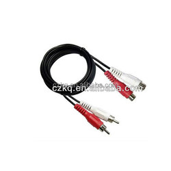 hot sale RCA 3.5mm jack to 3 rca cable japan sex video av 3.5mm stereo plug to 3rca jack