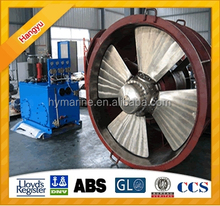 63KW Fixed Pitch Propeller Marine Tunnel Thruster/Diesel Or Electric Driven Marine Bow Tunnel Thruster