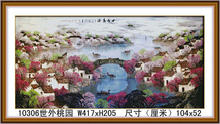 FASHION HOT SELL DIY FAMOUS CLASSIC DIAMOND PAINTING WITH BEAUTIFUL WATER LANDSCAPE FOR ART COLLECT