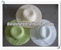 direct selling classic straw drinking hat ladies