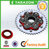 New design and top quality motorbike accessory sprockets from china