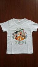 Cheap children white t shirt ,printing cheap price white children tee shirts ,white wholesale t-shirts