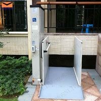lift for disabled people/wheelchair lift/wheelchair elevator lift