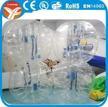 Hot sales PVC/ TPU inflatable bumper bubble football/soccer