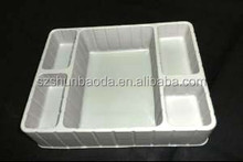 Customized cheap pvc/pet/ps plastic tray ,blister tray for various uses