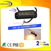 Factory online,3 selectable flash pattern led warning light bars for trucks