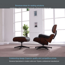 CH-001# Charles Eames Lounge Chair and Ottoman