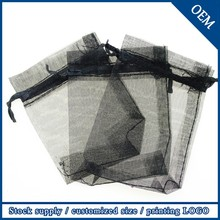 Wholesale High Quality Customized Logo Drawstring Organza Bag Pouch,Jewelry Packaging Bags