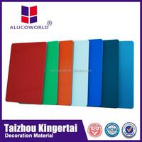 Alucoworld washable aluminum composite panels exterior wall panels white color pe core acp