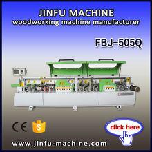 CE certificate BEST PRICE FBJ-505Q full automatic ABS edge banding machine woodworking equipment