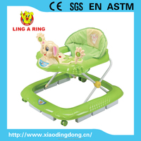 2013 Baby Walker with european standard base and rubble stopper and elephant head