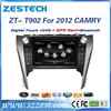 "ZESTECH car dvd navigation gps radio bluetooth TV car dvd 9"" for Toyota Camry 2012 car dvd navigation"