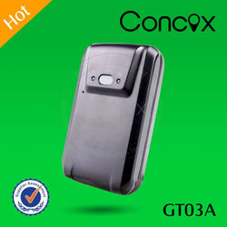 Concox Direct Manufacture Strong Magnet Easily Installation GT03A GPS+GPRS+GSM Car Tracker with Low Battery Alarm