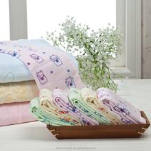 Fashion Brand Inflight Blanket Spring/Autumn Flower Printing Green Thread Blanket