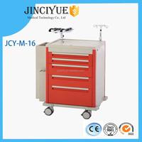 Emergency Hospital Medical Equipment Emergency Trolley for Sale