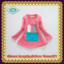 Add wool t-shirts render unlined upper garment of the girls,girl tops,kids' garments