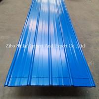 prepainted corrugated metal siding