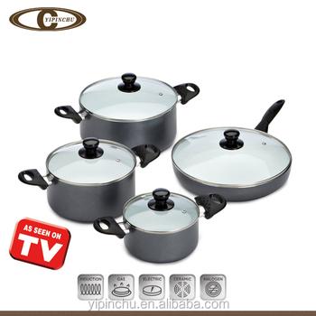 Aluminum cookware with ceramic coating