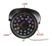 Night Vision IR CCTV Camera