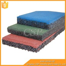 Outdoor Playground Rubber Backing Commercial Carpet Floor Tiles,Gym Rubber Tile
