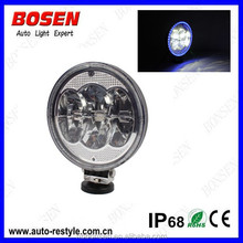2015 NEW ARRIVAL offroad led driving light with halo ring DRL round LED work light60w anti-rust